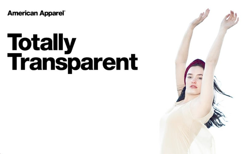 American Apparel Lost a Mere $20 Million Last Quarter