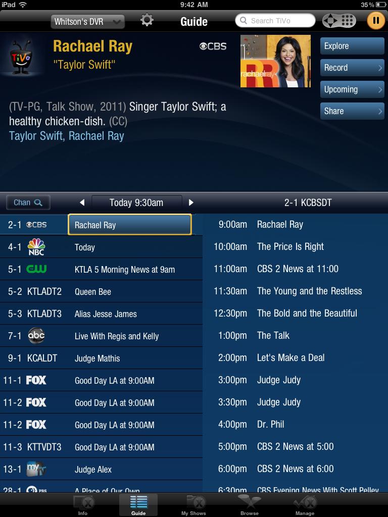 Gimped TiVo
