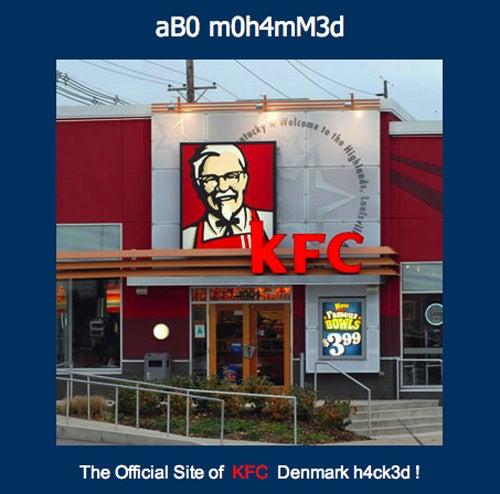 Denmark's KFC Website Victim of Islam-Themed Hack