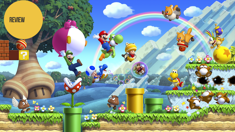 New Super Mario Bros. U and Nintendo Land: The Kotaku Reviews