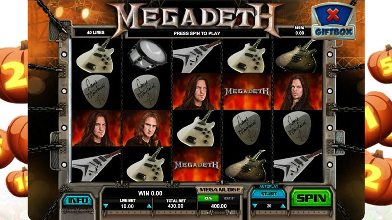 If Not for Facebook We'd Never Play Megadeth Slots