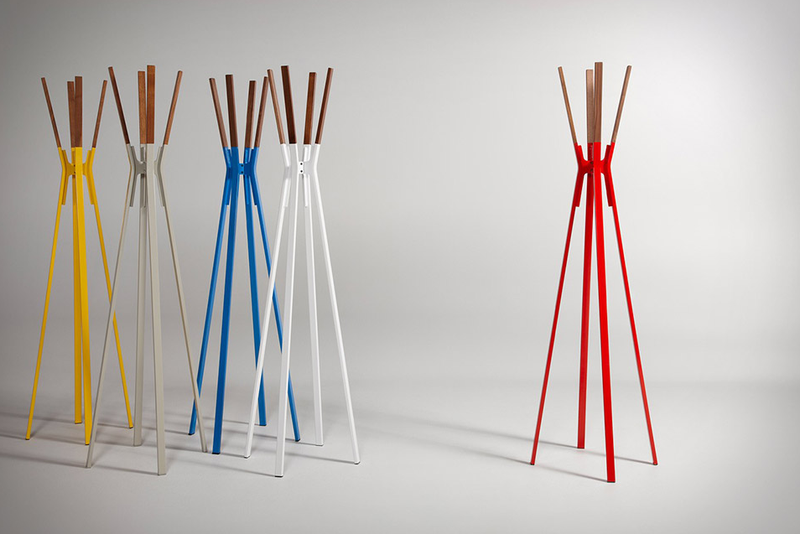 The Colorful Coatrack That Makes a Splash