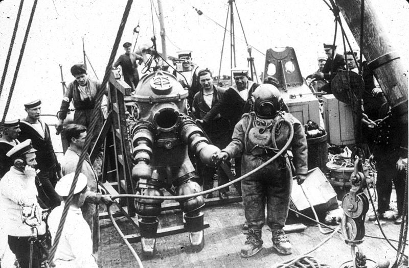 12 Deep-Sea Diving Suits to Keep the Ocean from Crushing You Like a Walnut