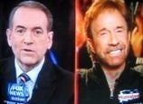 Geniuses Mike Huckabee and Chuck Norris Compare Depression Conspiracies