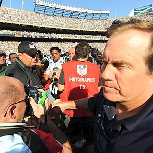 Mr. Congeniality Bill Belichick Has Some Thoughts On The Postgame Coach Handshake