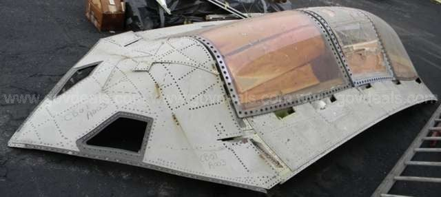 Man Gets Top Secret Fighter Jet's Canopy For Peanuts—Now Selling It On eBay For $620,000