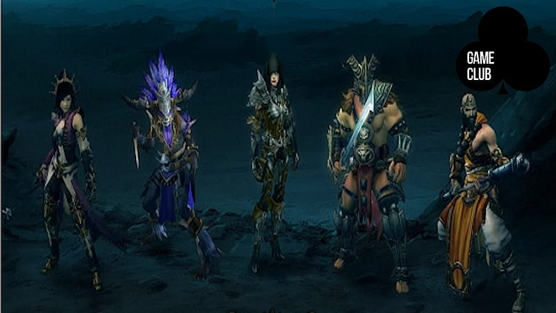 The Game Club is doing a Diablo III Character Study Right Now!