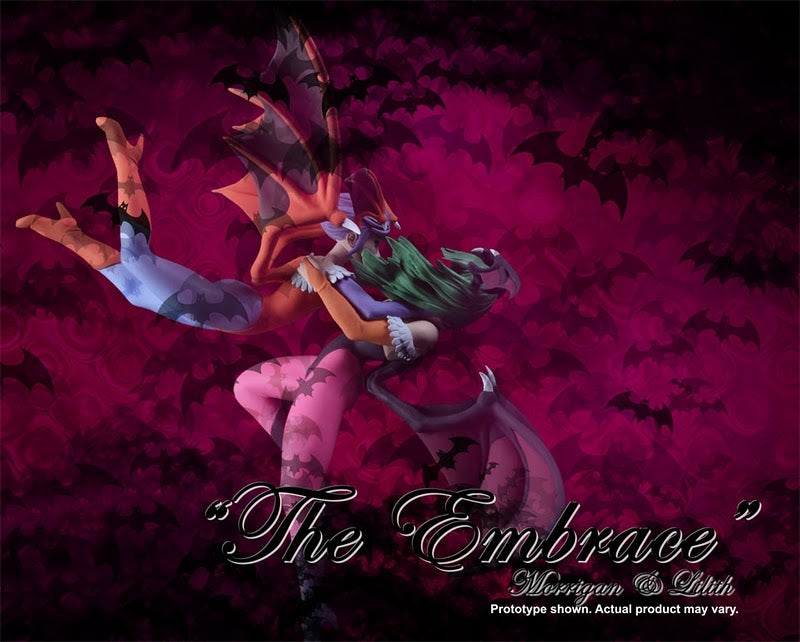 The Loving Embrace of a Darkstalkers Statue