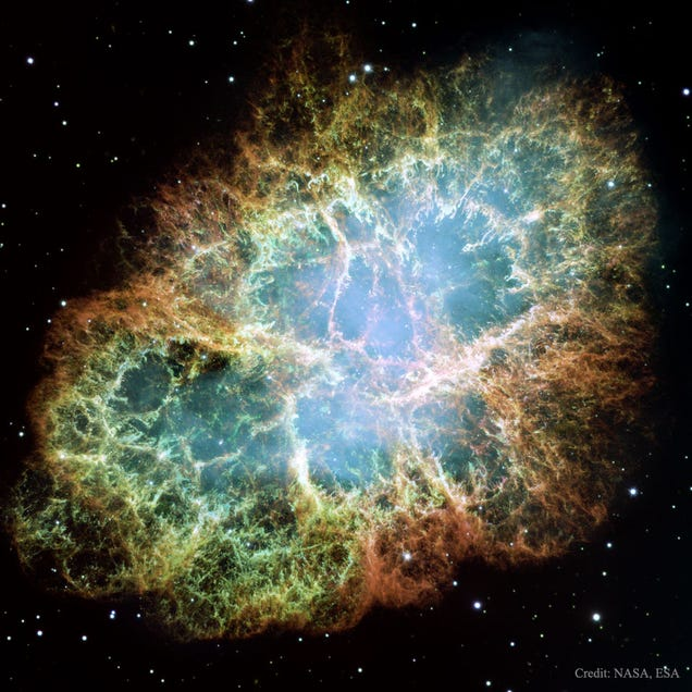 The Crab Nebula Is a Gorgeous Mystery