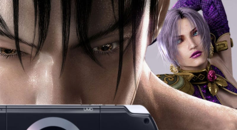 Soulcalibur Is Also Coming To The PSP