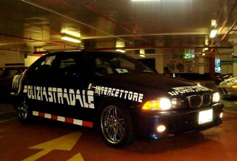 Team Polizei First to Chunnel!
