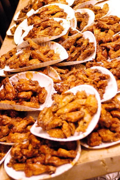 Chicken Wings Don't Kill People, People Kill People