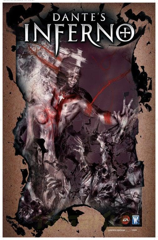 Dante's Inferno Comic Premiers At Comic-Con (Updated)