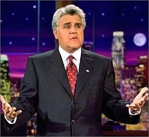 """Jay Leno's Sad Variety Show: """"Welcome to the future"""""""