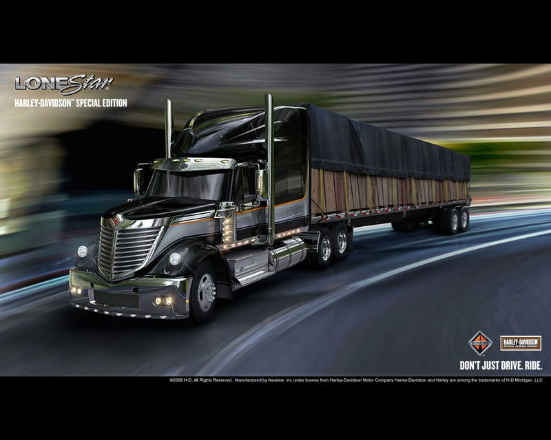 International Lonestar Harley-Davidson Special Edition: A Truck For Real Men