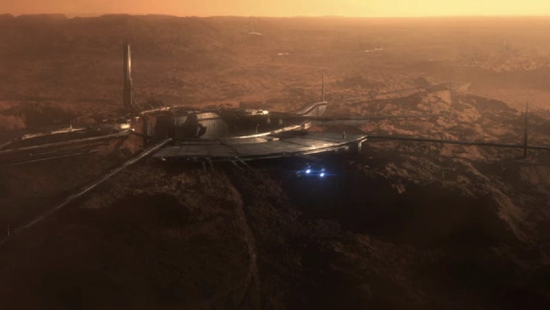 Take a Look at Mass Effect 3's Mars