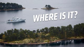 Hunt For The What October: Sweden Widens Search For Mystery Submarine