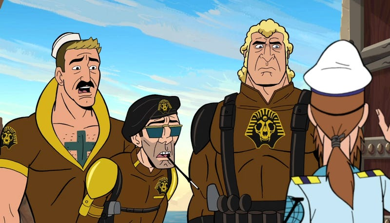 The creators of The Venture Bros. tell us about the new season (and slash fiction)