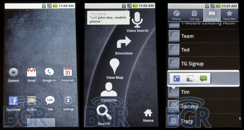 Android 2.0 First Look: Fresh Face, Sick Speed