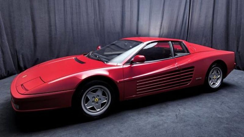 Ferrari Auction: Pictures
