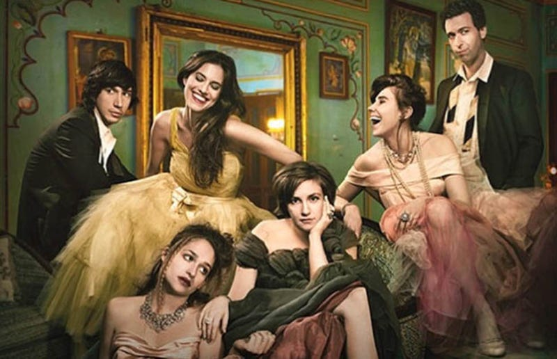 Everyone Is Bored Out of Their Brains in Girls Season 3 Poster