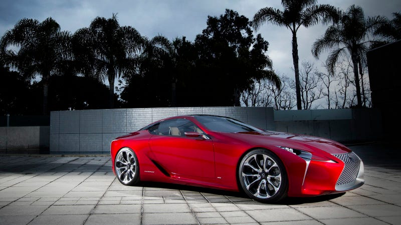 Your Ridiculously Cool Lexus LF-LC Concept Wallpaper Is Here