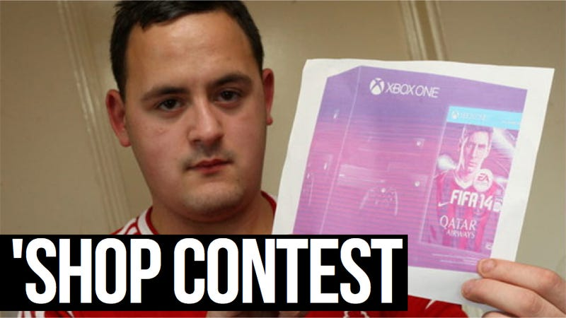 Kotaku 'Shop Contest: A Picture Worth $735