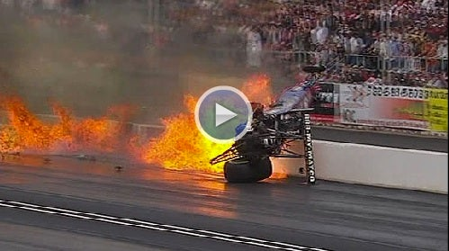 VIDEO: Flying Tire At Arizona Drag Race Kills Spectator