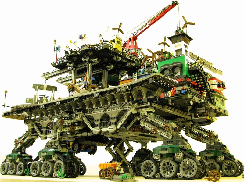 Lego Crawler Town Makes Having a Tiny Yellow Head Totally Worth It