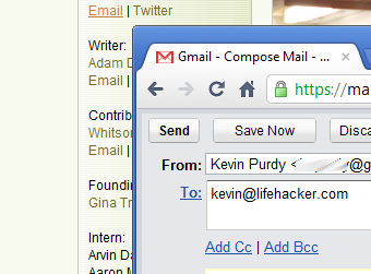 GmailDefaultMaker Sets Gmail, Yahoo, Hotmail, or AOL as Your Default Email Handler