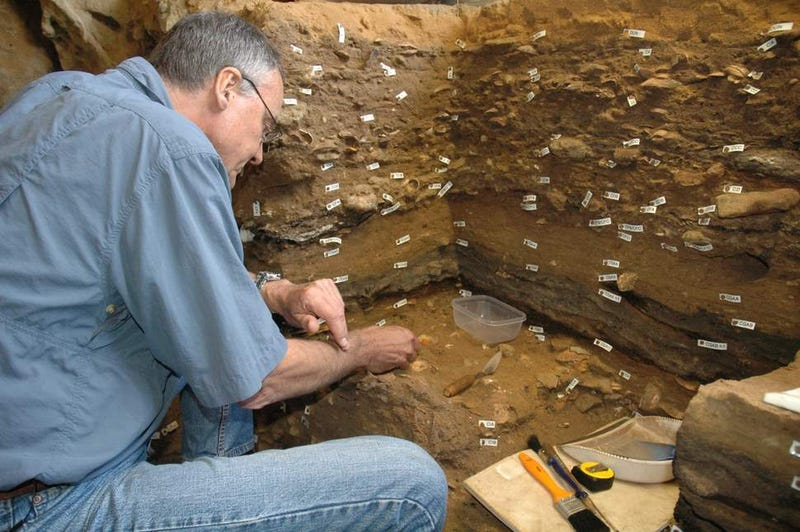 A Look Inside a 100,000-Year-Old Art Studio