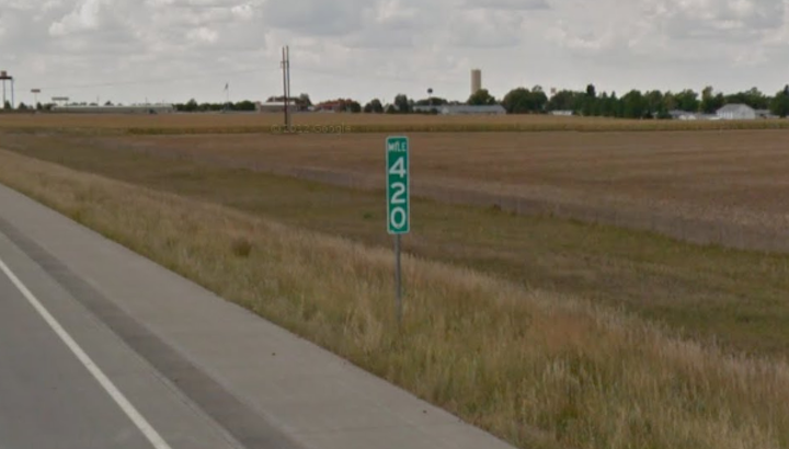Colorado Stoners Keep Stealing Mile Marker 420