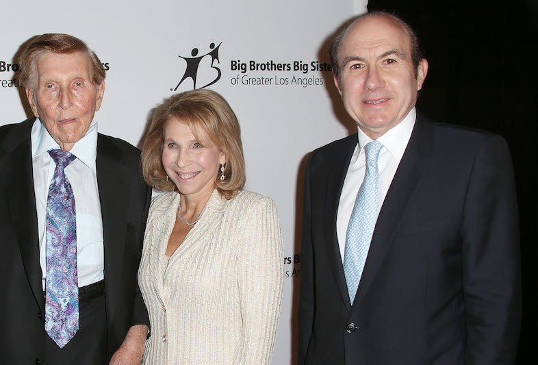 Old-Ass Sumner Redstone's Shadowy Daughter Probably Just Tried to Off Viacom's CEO