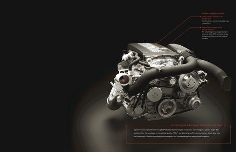 Mercedes Reveals DiesOtto Engine: It Runs On Gas