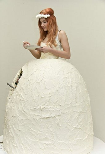 The Bride Wore Cake
