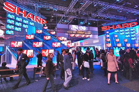 Top 10 Booths of CES 2008