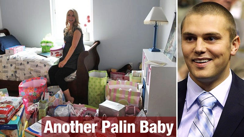 Report: Palin Grandchild Born Three Months After Wedding