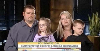 6-Year-Old Girl Dropped From Cheerleading Squad After Mother Protests Racy Cheer