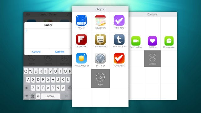 Launch Center Pro Adds Fleksy Keyboard, Lists, Share Sheets, and More