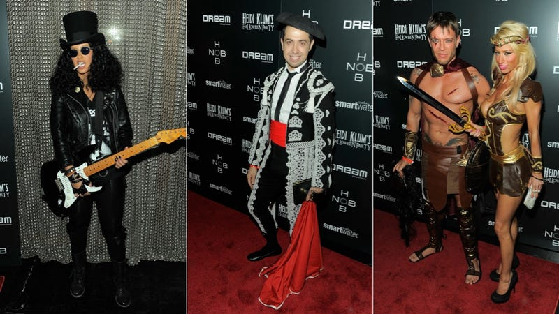 Guys & Ghouls Rocked Frighteningly Creative Costumes At Heidi Klum's Halloween Party