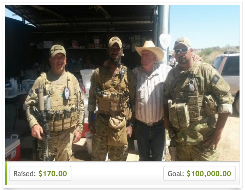 Bundy Ranch's Armed Defenders Seek Welfare to Sit Around Doing Nothing