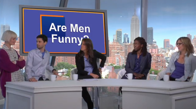 This Week's Top Web Comedy Video: Are Men Funny?