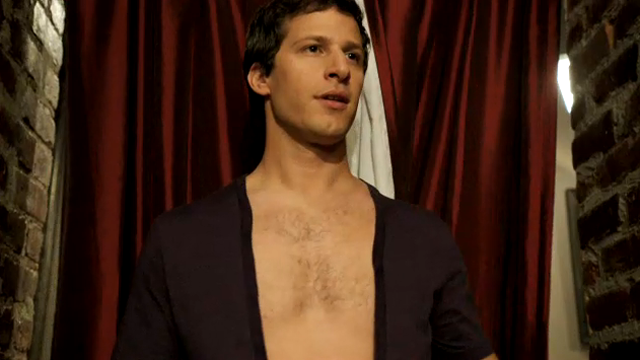 Ben Stiller and Andy Samberg Teach Us About the Dangers of V-Necks