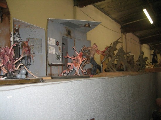 The Thing Monster Maquettes