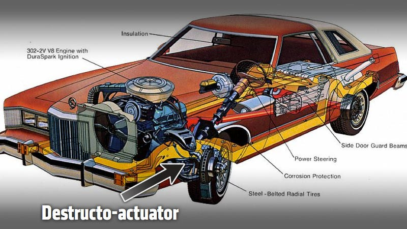 How To Destroy A $200 Mercury Cougar, Part II