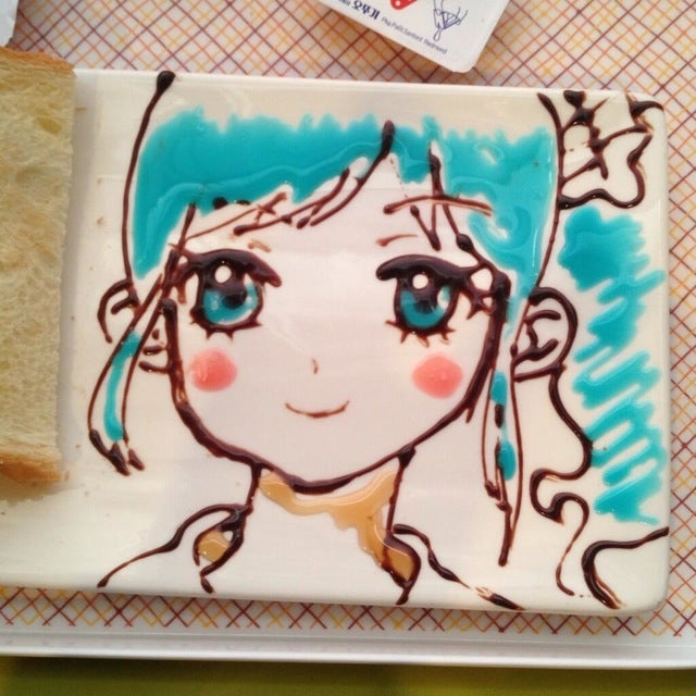 Chocolate Sauce Creates Incredible Video Game and Anime Art