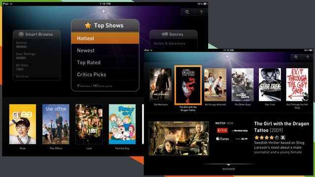 Fanhattan Is a One-Stop App for Finding Streaming TV and Movies for the iPad