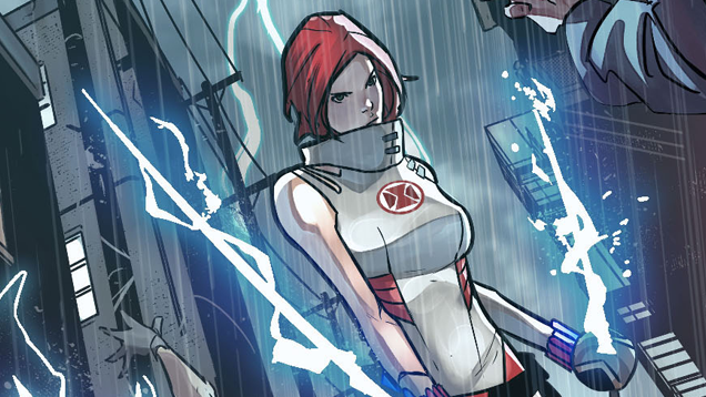 Say Hello to the Red Widow, Marvel's Mysterious New Super Spy