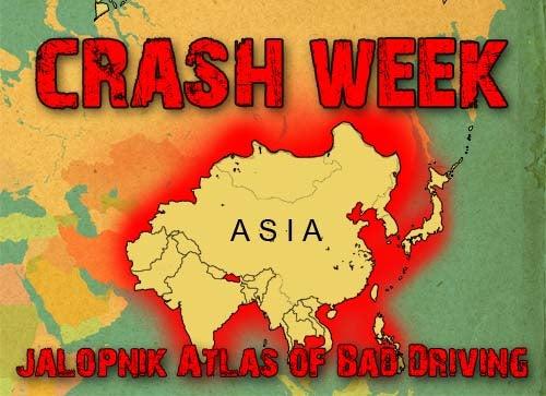World Atlas Of Bad Driving: Asia