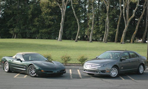 The GREEN Rally Challenge: Corvette Vs Fusion Hybrid